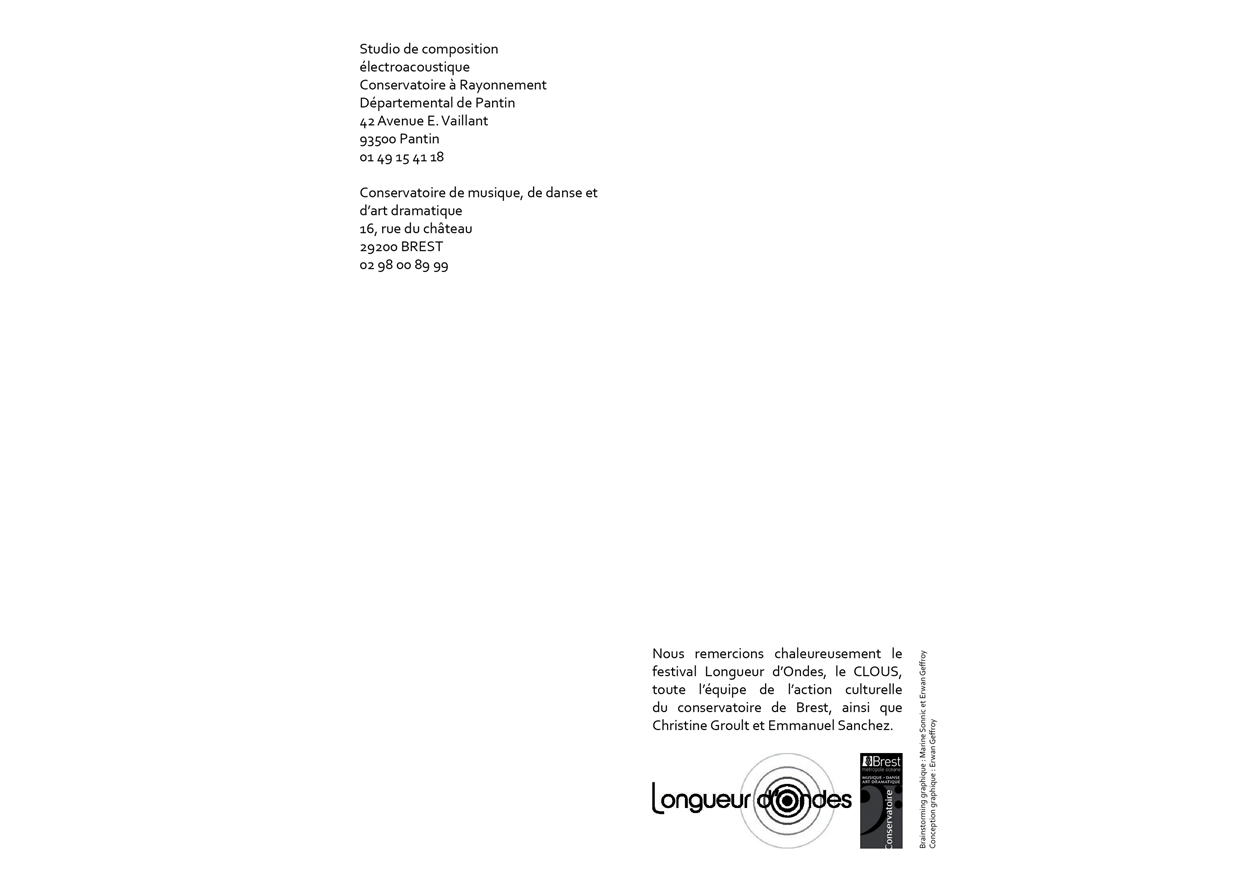 Programme Acousmarium