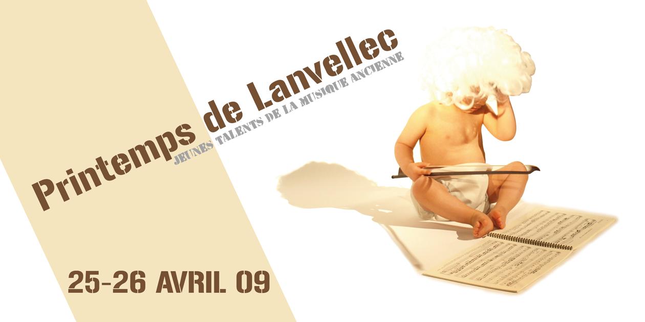 Dépliant du Printemps de Lanvellec